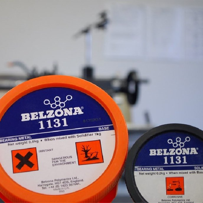 Belzona 1131 Bearing Metal