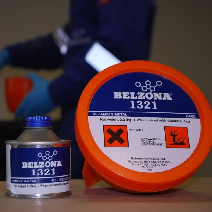 Belzona 1321 Ceramic S-Metal