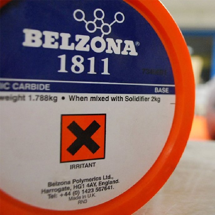 Belzona 1811 Ceramic Carbide