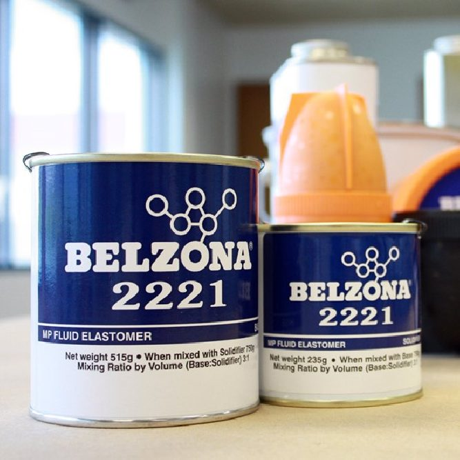 Belzona 2221 MP Fluid Elastomer product