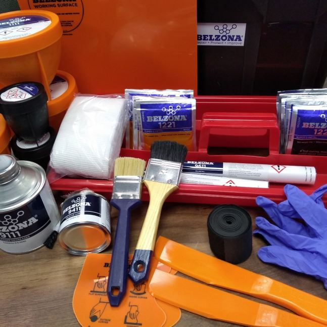 Marine Repair Kit ideaal in noodgevallen